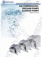 Воздушные компрессоры и вакуумные насосы MEDO (ENG)