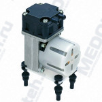 Диафрагменные компрессоры и вакуумные насосы серии VC